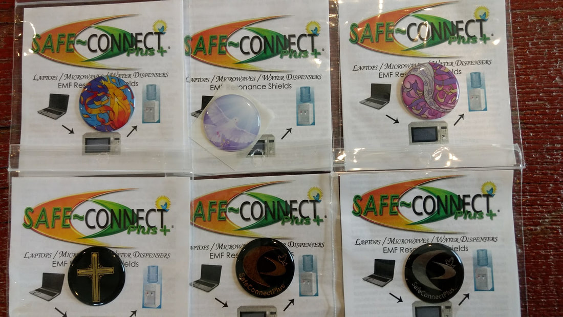 SafeConnect Plus EMF Shields - Purely Living Wellness